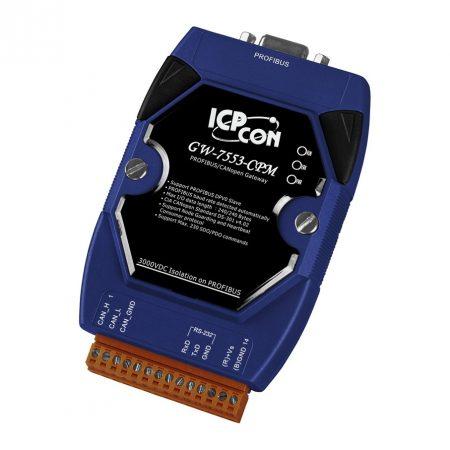 GW-7553-CPM # Profibus - CANopen átjáró/ gateway /Profibus slave/CANopen master/ ICP CON/ ICP DAS
