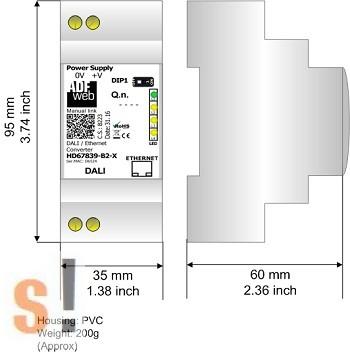 HD67839-B2 # DALI / Ethernet - konverter/gateway