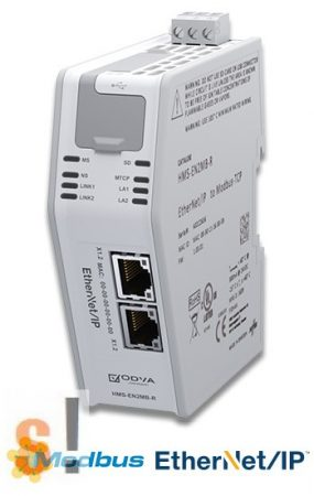 HMS-EN2MB-R # Ethernet/IP-Modbus TCP Link átjáró/Gateway/HMS Industrial Networks