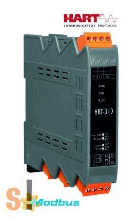 HRT-310 CR # HART Átjáró/Gateway/Modbus/RTU/ASCII - HART protokoll konverter, ICP DAS