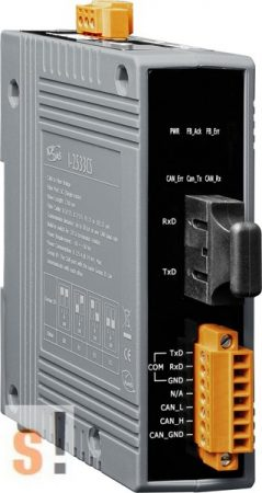 I-2533CS # Konverter/Bridge/CAN - Single mód Fiber/SC/30km, ICP DAS