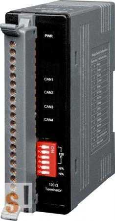 I-2534 # Ipari 4 portos CAN switch, Switch/CAN/4port/LED/műanyag ház, ICP DAS