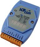 I-7012FD # I/O Module/DCON/1AI/2DO/1DI/LED/FAST