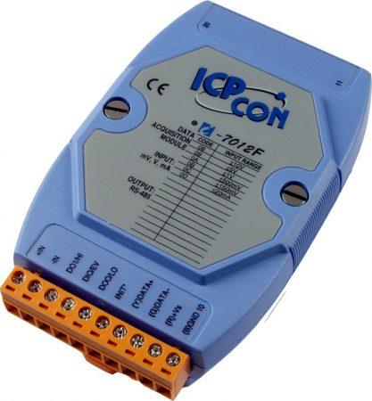 I-7012F # I/O Module/DCON/1AI/2DO/1DI/FAST, ICP DAS