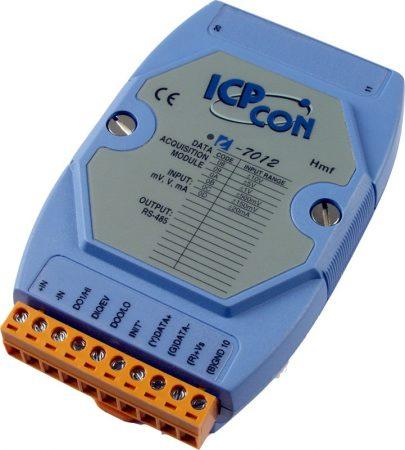I-7012 # I/O Module/DCON/1AI/2DO/1DI, ICP DAS
