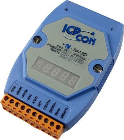 I-7013D # I/O Module/DCON/1AI/RTD, LED, ICP DAS