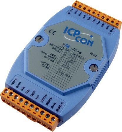 I-7016 # I/O Module/DCON/2AI/Strain Gauge/4DO/1DI, ICP DAS