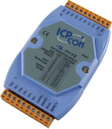 I-7018R # I/O Module/DCON/8AI/TC+Type L-M/High prot.