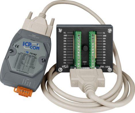 I-7018Z-G/S2 # I/O Module/DCON/10AI/TC+Type L-M/DN-1822/CD-2518D, ICP DAS