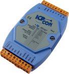I-7016P # I/O Module/DCON/1AI/Nyúlásmérő/4DO/1DI, ICP DAS