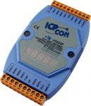 I-7033D # I/O Module/DCON/3AI/RTD, LED, ICP DAS