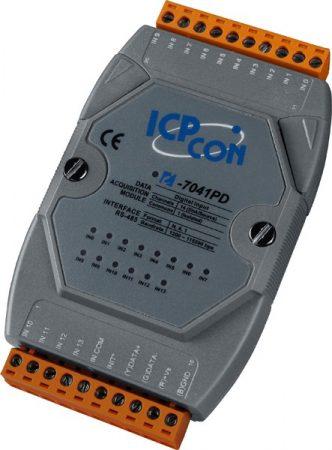 I-7041PD # I/O Module/DCON/14DI/LED, ICP DAS, ICP CON