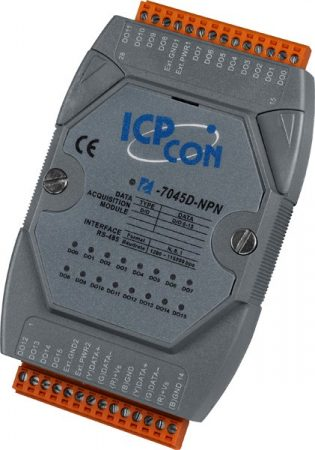 I-7045D-NPN # I/O Module/DCON/16DO/O.C./LED, ICP DAS