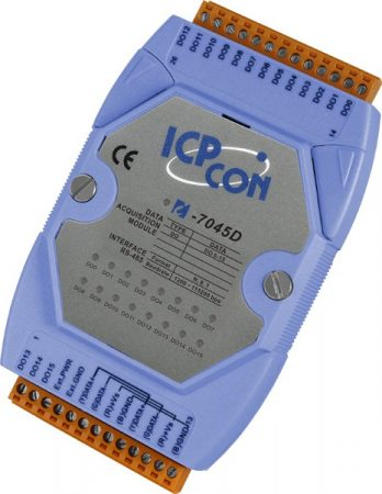 I-7045D # I/O Module/DCON/16DO/O.C./LED, ICP DAS