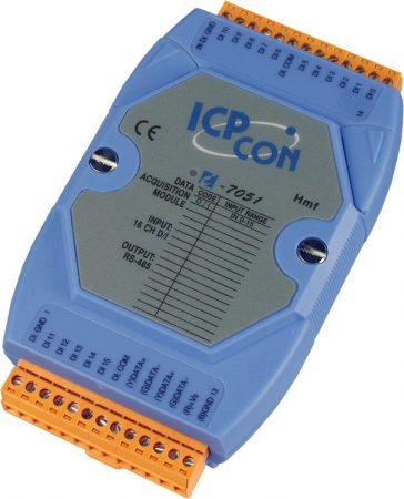 I-7051 # I/O Module/DCON/16DI, ICP DAS, ICP CON
