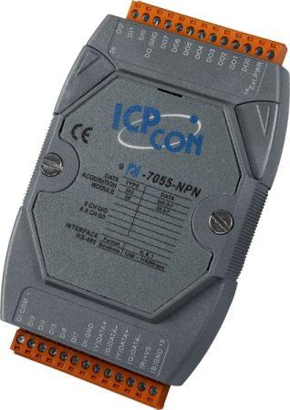 I-7055-NPN # I/O Module/DCON/8DI/8DO/NPN, ICP DAS, ICP CON