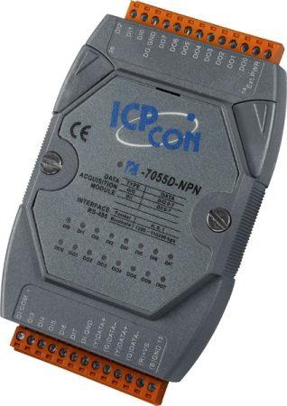 I-7055D-NPN # I/O Module/DCON/8DI/8DO/NPN/LED, ICP DAS, ICP CON