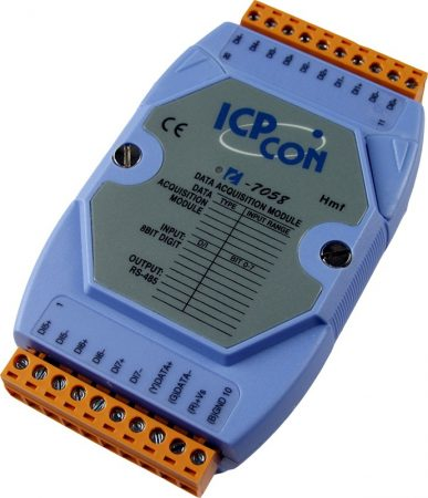 I-7058-G # I/O Module/DCON/8DI Isol./AC-DC DI/240VAC, ICP DAS, ICP CON
