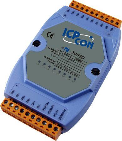 I-7059D-G # I/O Module/DCON/8DI Isol./AC-DC DI/80VAC/LED, ICP DAS, ICP CON