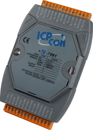 I-7061 # I/O Module/DCON/12 Relay Power, ICP DAS, ICP CON