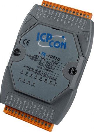 I-7061D # I/O Module/DCON/12 Relay Power/LED, ICP DAS, ICP CON