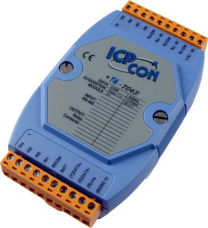 I-7063 # I/O Module/DCON/3 Relay/8DI, ICP DAS, ICP CON