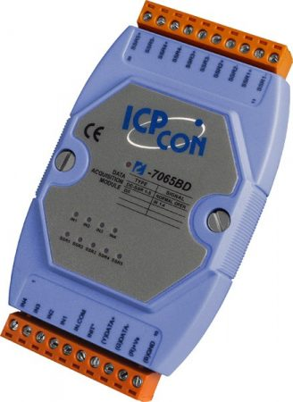 I-7065B # I/O Module/DCON/5 Relay SSR-DC/4DI, ICP DAS, ICP CON