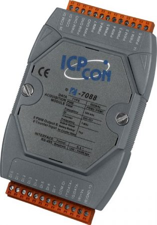 I-7088D # I/O Module/DCON/8 Counter/8 DO/LED, ICP DAS, ICP CON