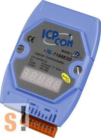 I-7188E2D-MTCP # Device Server/Gateway/Modbus/TCP/IP/RS-232/RS-485/Ethernet/LED, ICP DAS