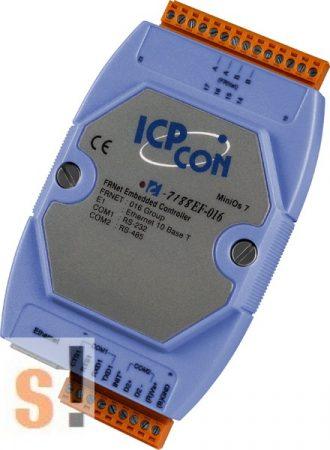 I-7188EF-016 # Controller/Frnet/MiniOS7/C nyelv, ICP DAS