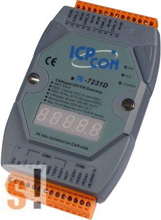I-7231D # Gateway/CANopen Slave/DCON Master/LED, ICP DAS