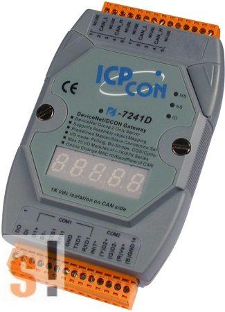 I-7241D # Átjáró/Gateway/DeviceNet Slave - DCON Master/LED, ICP DAS