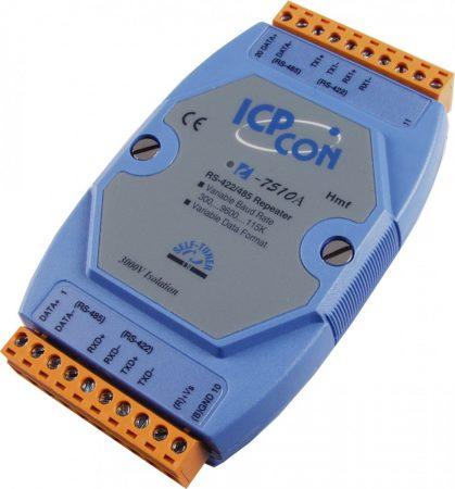 I-7510A # szigetelt RS-422/485 vonalerősítő / konverter/repeater/3000Vdc, ICP DAS