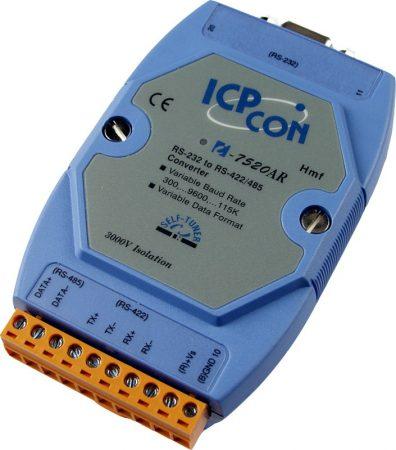 I-7520AR #  RS-232 - RS-422/485 konverter, szigetelt, ICP DAS