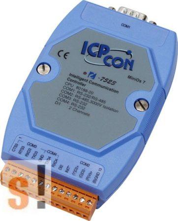 I-7523 # Konverter/1x RS-232/485, 1x RS-485, 2x RS-232, 1x DI, ICP DAS