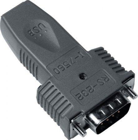 I-7560U # USB - RS-232 konverter/adapter/ipari/ Windows 7/8/8.1/10 driver,  ICP DAS
