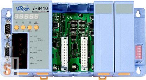 I-8410 # Controller/Intel 80188/DCON/4 hely/256KB, ICP DAS
