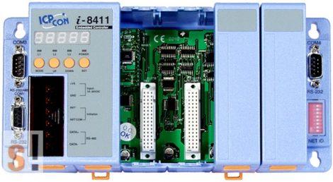 I-8411 # Controller/Intel 80188/MiniOS7/C nyelv/4 hely/512KB, ICP DAS