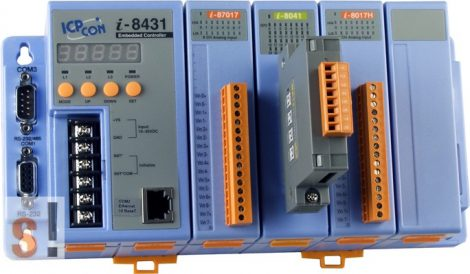 I-8431 # Controller/Intel 80188/MiniOS7/4 hely/512KB, ICP DAS