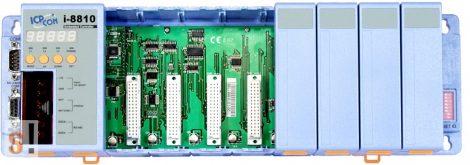 I-8810 # Controller/Intel 80188/DCON/8 hely/256KB, ICP DAS