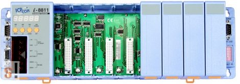 I-8811 # Controller/Intel 80188/MiniOS7/C nyelv/8 hely/512KB, ICP DAS