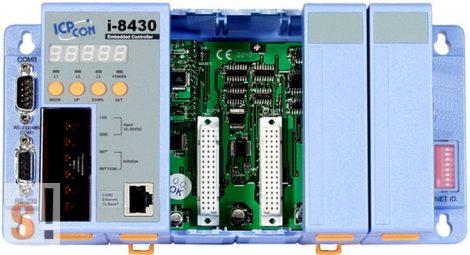 I-8830 # Controller/Intel 80188/DCON/8 hely/512KB/Ethernet, ICP DAS