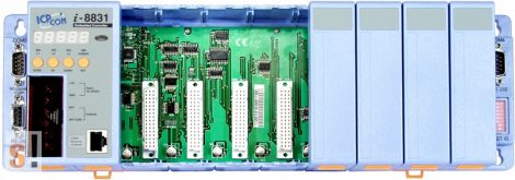 I-8831-80-MTCP # Controller/Intel 80186/Modbus TCP/8 hely/512KB, ICP DAS