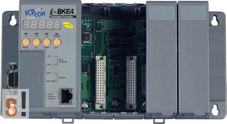 I-8KE4-MTCP-G # Controller/Intel 80186-80/Modbus TCP/4 hely