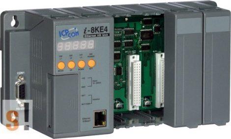 I-8KE4 # Controller/Intel 80186-80/DCON/4 hely/512KB/Ethernet, ICP DAS