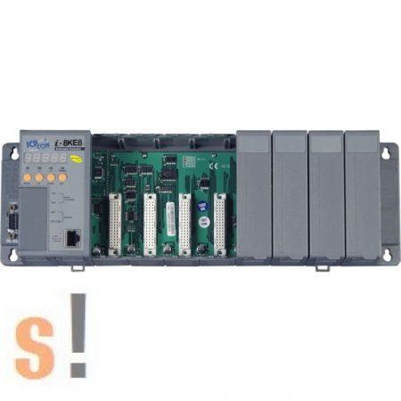 I-8KE8-MTCP-G # Controller/Intel 80186-80/Modbus TCP/8 hely/512KB, ICP DAS