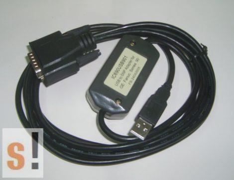 IC690USB901 # USB/SNP programozó kábel/adapter GE FANUC 90 PLC-hez