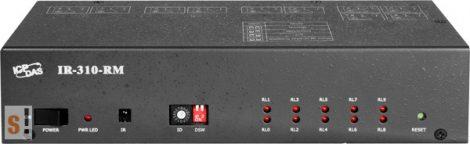 IR-310-RM # IR kontroller, 10 csatornás, nagy teljesítményű relék