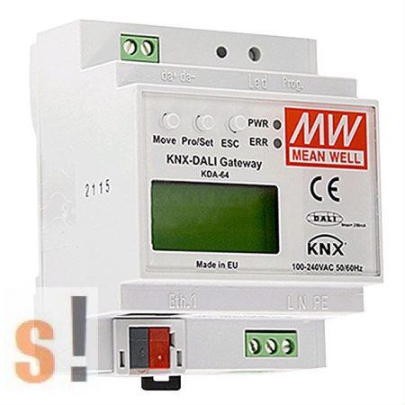 KDA-64 # KNX - DALI Gateway/Konverter, Mean Well