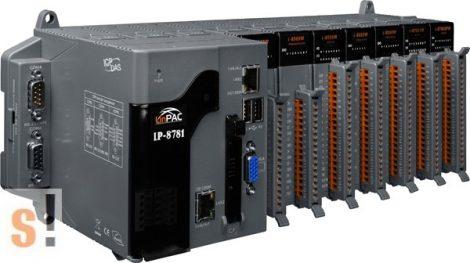 LP-8781-EN # LinPac Controller/AMD LX800/Linux/7x I/O hely, ICP DAS